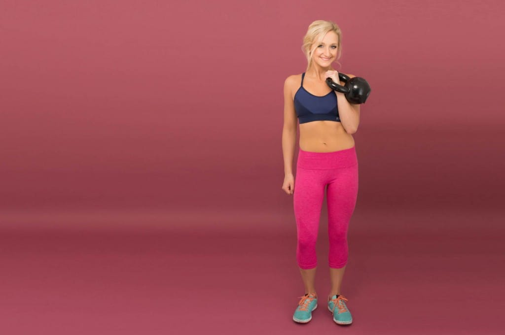 Top five exercises for a beginner's at home kettlebell workout