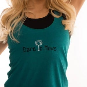 Dare To Move Tank - Teal