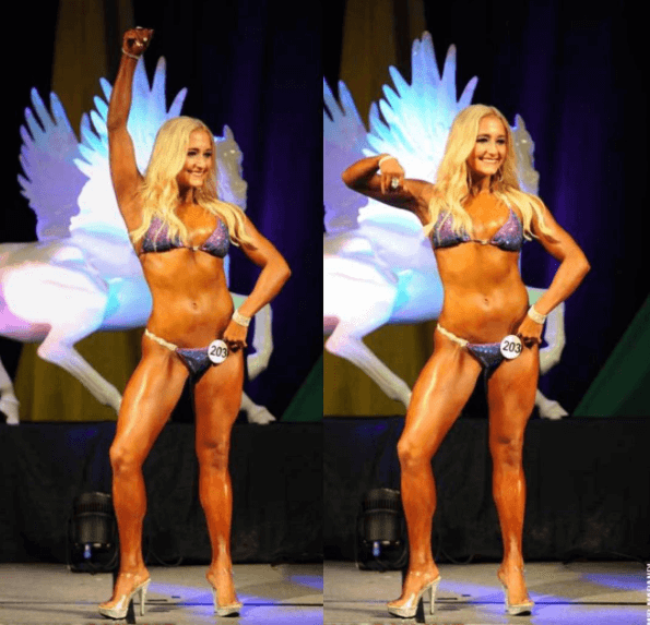 Kentucky Muscle NPC Bikini Competition 2017