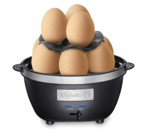 """This """"egger"""" can make hard boiled, soft boil for medium boiled egg depending on how much water you add!"""