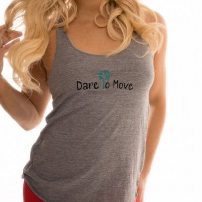 Dare To Move Tank - Gray