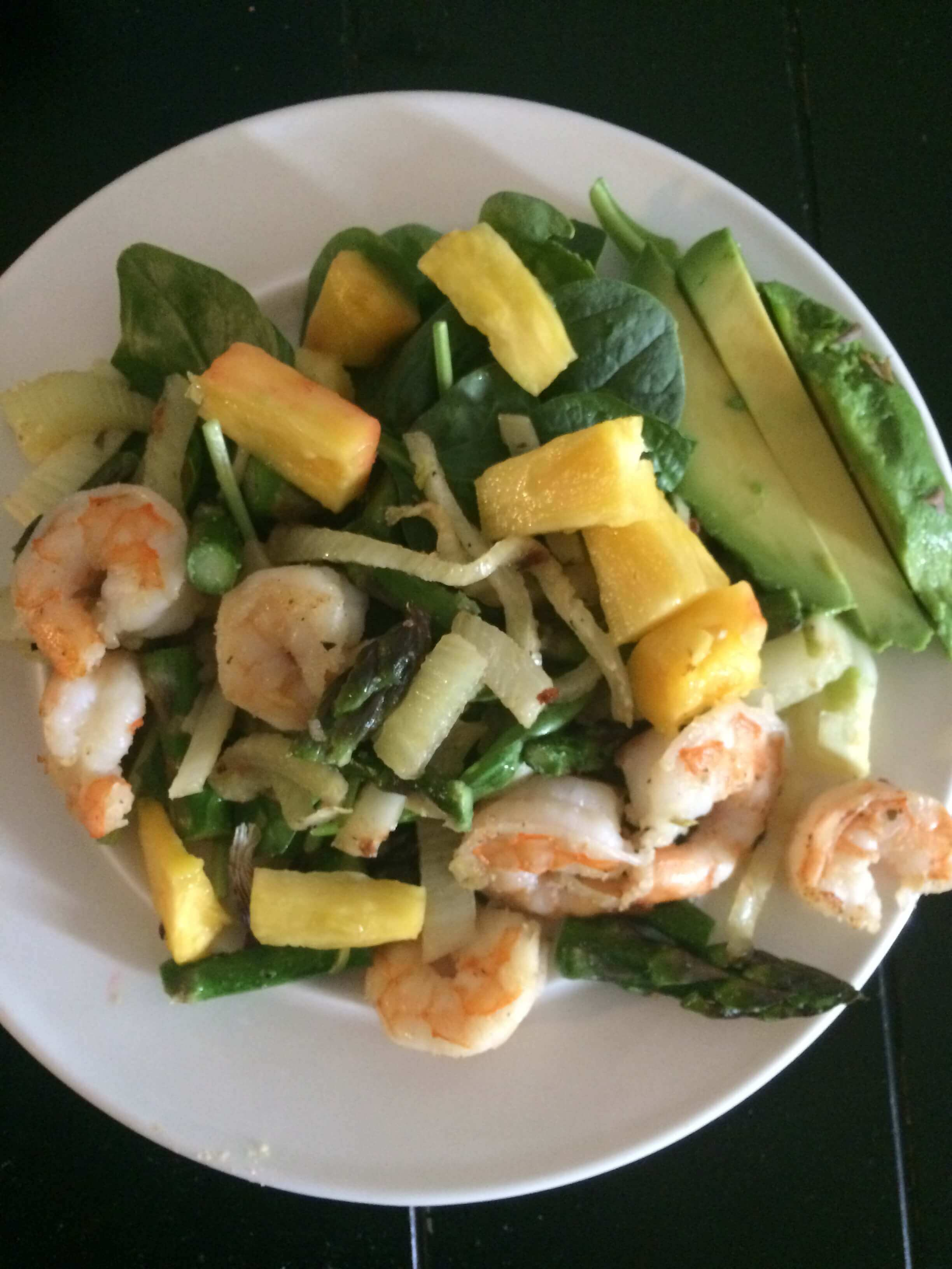 Summer Recipe: Hot & Cold Fennel Shrimp Salad